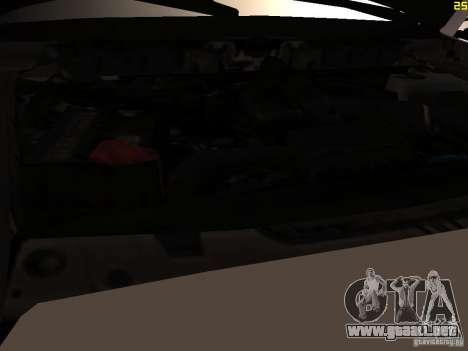 Ford F350 Super Dute para visión interna GTA San Andreas