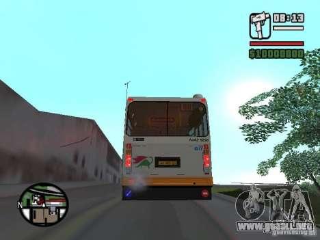 LIAZ 5283.70 para la visión correcta GTA San Andreas