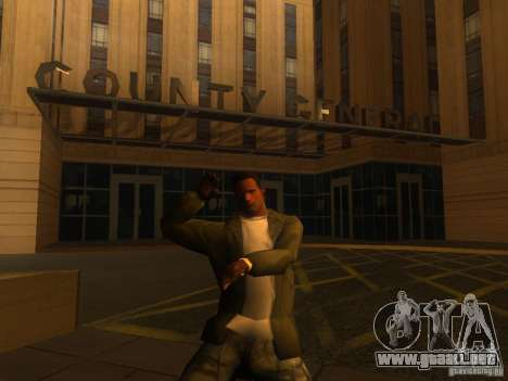 Gangam Style para GTA San Andreas sucesivamente de pantalla