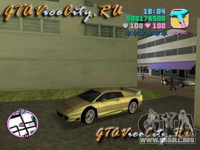 Lotus Esprit V8 v1.2 para GTA Vice City