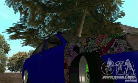 LADA 2170 JDM para la visión correcta GTA San Andreas