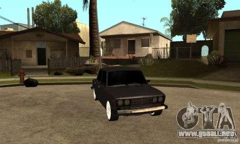 VAZ Lada 2106 LT para GTA San Andreas vista hacia atrás