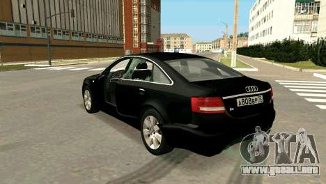 Audi A6 para la vista superior GTA San Andreas