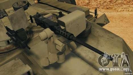 M1A2 Abrams para GTA 4 vista desde abajo
