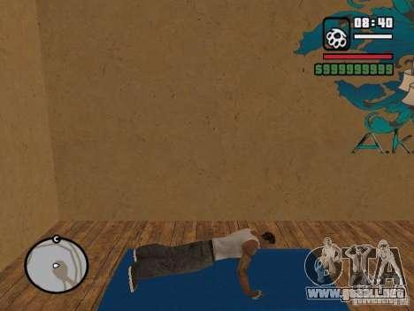 Training and Charging 2 para GTA San Andreas sexta pantalla