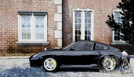 Porsche 911 Turbo S para GTA 4 Vista posterior izquierda