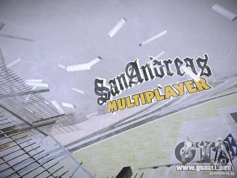La posibilidad de reemplazar timecyc en SA: MP para GTA San Andreas quinta pantalla