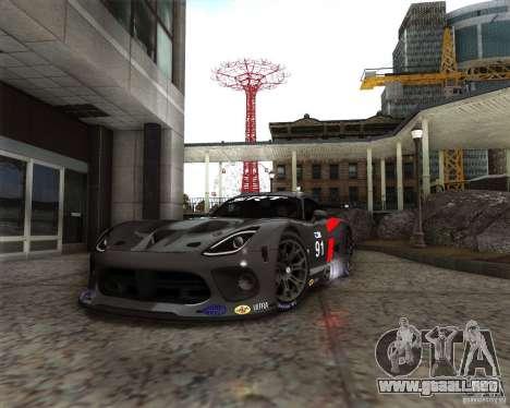 SRT Viper GTS-R V1.0 para GTA San Andreas left