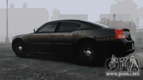 Dodge Charger RT Hemi FBI 2007 para GTA 4 left