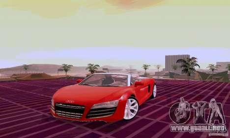 Audi R8 V10 Spyder 5.2. FSI para GTA San Andreas