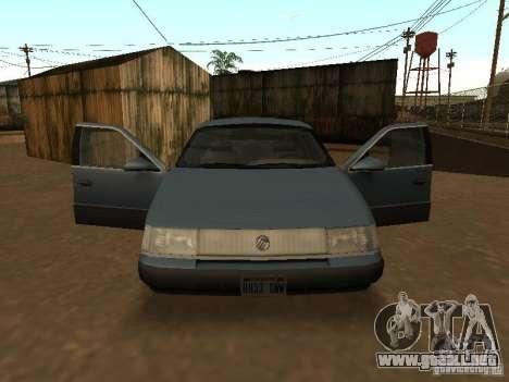 Mercury Sable GS 1989 para la visión correcta GTA San Andreas