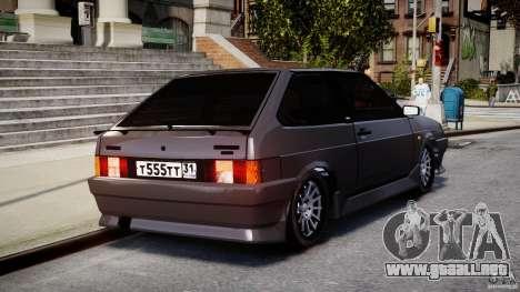 VAZ-2108 Sport para GTA 4 vista lateral