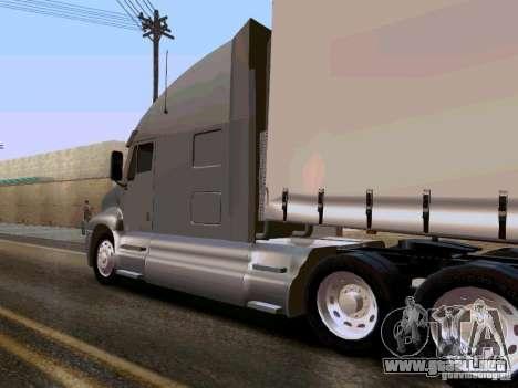 Kenworth T2000 v.2 para GTA San Andreas vista posterior izquierda