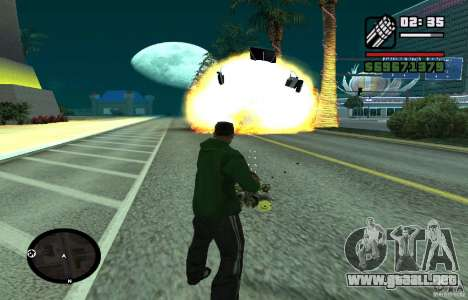 New Effects [HQ] para GTA San Andreas