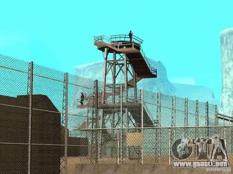 Animada zona 69 para GTA San Andreas quinta pantalla