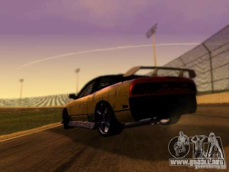 Nissan 240sx Street Drift para GTA San Andreas vista posterior izquierda