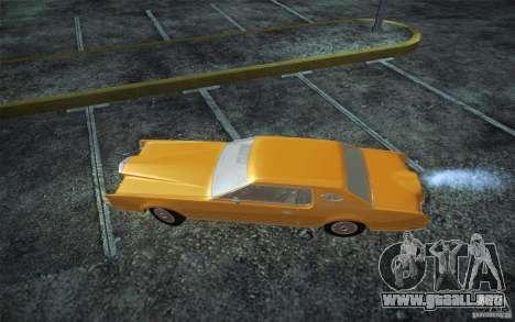 Lincoln Continental Mark IV 1972 para GTA San Andreas left