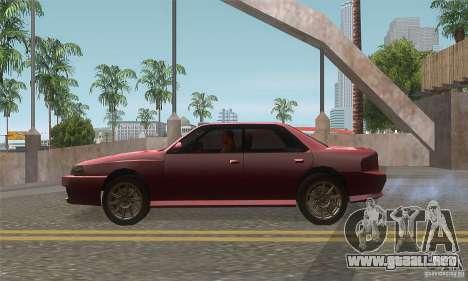 New Sultan HD para GTA San Andreas left