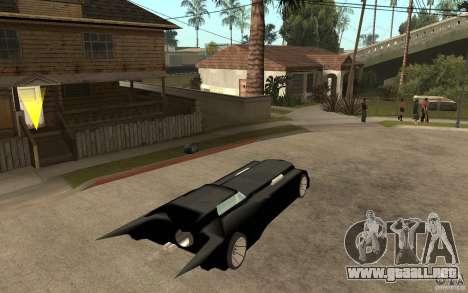Batmobile Tas v 1.5 para la visión correcta GTA San Andreas