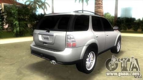 SAAB 9-7X para GTA Vice City vista lateral izquierdo