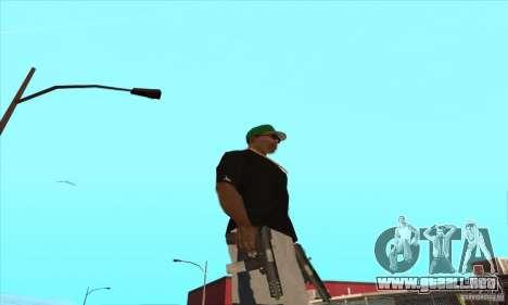 WEAPON BY SWORD para GTA San Andreas undécima de pantalla
