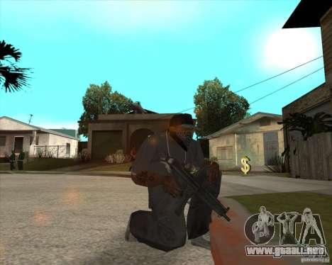 Resident Evil 4 weapon pack para GTA San Andreas novena de pantalla