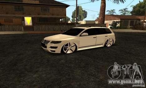 Volkswagen Touareg Dag Style para la visión correcta GTA San Andreas