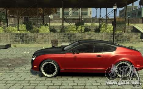 Bentley Continental GT SS para GTA 4 left