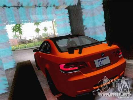 Lavado de coches funcional para GTA San Andreas segunda pantalla