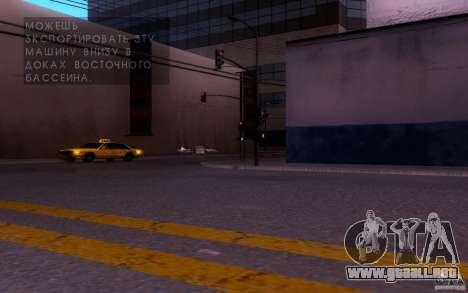 ENBSeries by muSHa v1.5 para GTA San Andreas segunda pantalla