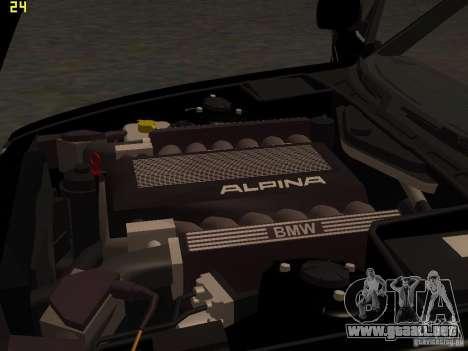 BMW E34 Alpina B10 Bi-Turbo para vista lateral GTA San Andreas