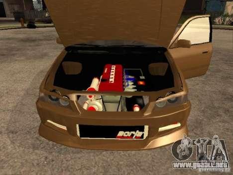 Toyota Camry 2002 TRD para la visión correcta GTA San Andreas