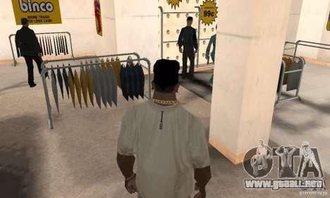 Batman bandana para GTA San Andreas tercera pantalla