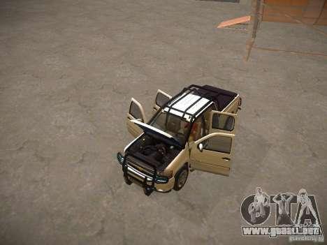 Chevrolet Silverado para la vista superior GTA San Andreas