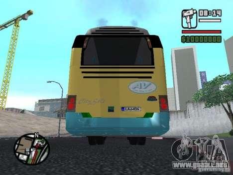 CitySolo 12 para GTA San Andreas vista hacia atrás