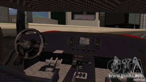 Bullet HD para GTA San Andreas vista posterior izquierda