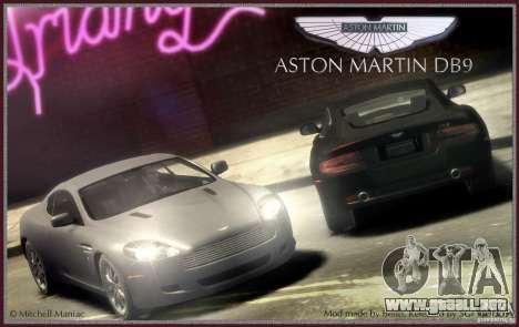 Aston Martin DB9 para GTA 4