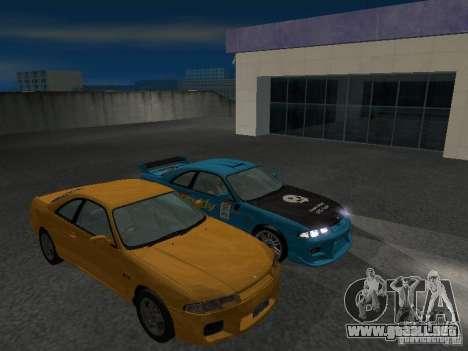 Nissan Skyline R 33 GT-R para la vista superior GTA San Andreas