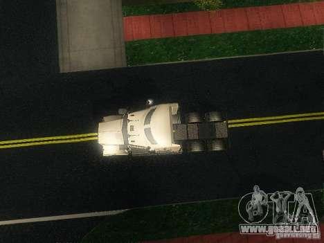 Kenworth T908 para visión interna GTA San Andreas