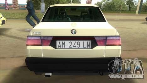Alfa Romeo 155 Entry 1992 para GTA Vice City left