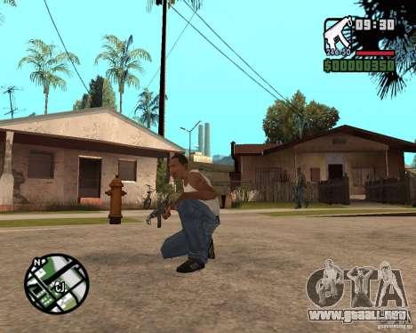 VZ-61 Scorpion para GTA San Andreas segunda pantalla