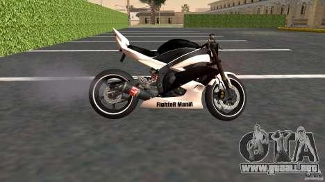 Yamaha YZF-R6 Street Fighter para GTA San Andreas