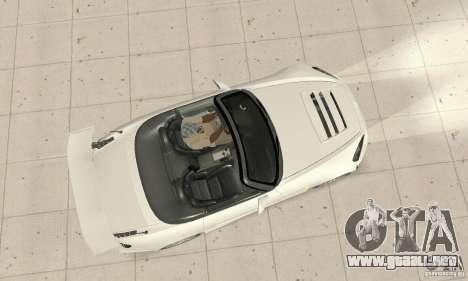 Honda S2000 Cabrio West Tuning para la visión correcta GTA San Andreas