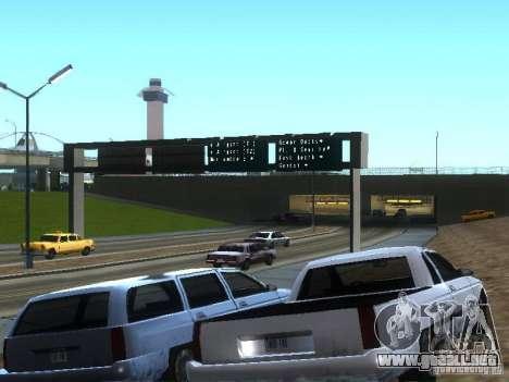 Nuevo Picador para GTA San Andreas vista hacia atrás