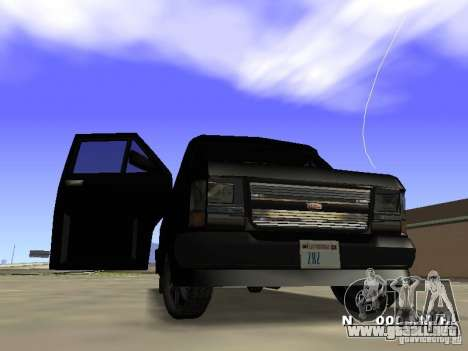 Burrito HD para GTA San Andreas left