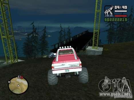 Monster tracks v1.0 para GTA San Andreas tercera pantalla