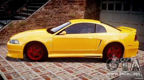 Ford Mustang SVT Cobra v1.0 para GTA 4 left