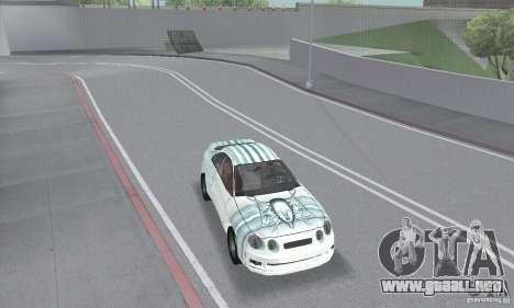 Toyota Celica GT4 2000 para vista lateral GTA San Andreas