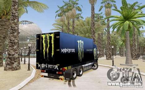 Scania R580 Monster Energy para GTA 4 left