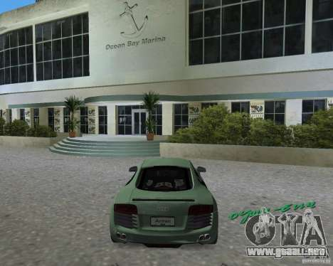 Audi R8 4.2 Fsi para GTA Vice City left